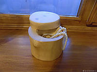 Деревянная шкатулка для колец и украшений № 16