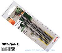 Набор сверл по бетону Bosch SDS-QUICK 5/6/8 мм (для Uneo)
