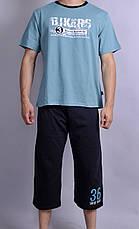 Мужская пижама (Футболка+бриджи) , фото 3