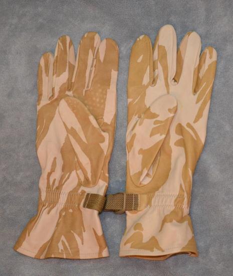 """Перчатки тактические DDPM кожа кенгуру. """"Сахара"""".Военные перчатки армии Великобритании"""