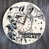Оригинальные настенные часы из дерева «Стражи Галактики» , фото 1