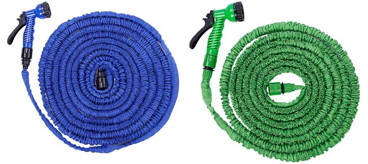 Поливальний шланг X HOSE 60m 200FT з розпилювачем у комплекті / гнучкий шланг для поливу
