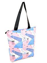 PODIUM Сумка Женская Классическая текстиль PODIUM Shopping-bag 901-3