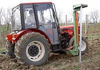 Агрегат для гидравлического заталкивания столбов
