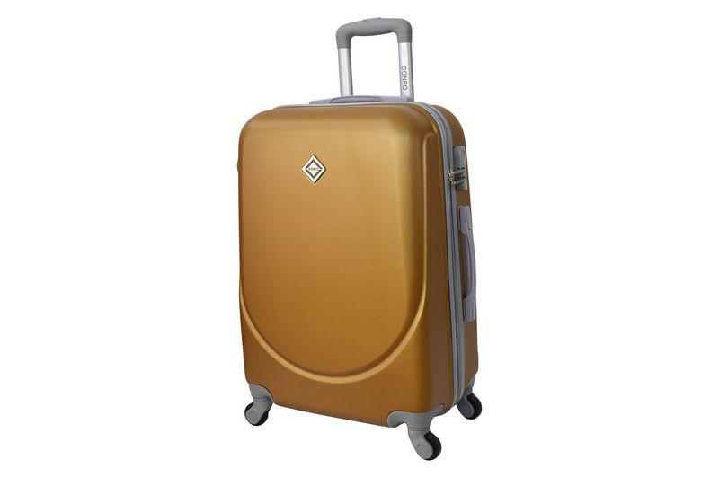 Чемодан сумка дорожный Bonro Smile (средний) золотой