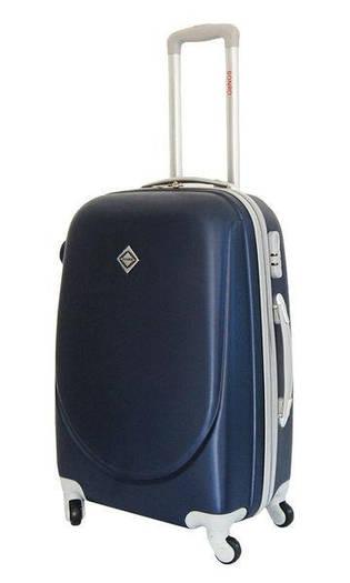 Чемодан сумка дорожный Bonro Smile (средний) темно-синий