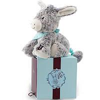 Мягкая музыкальная игрушка Kaloo Les Amis Ослик серый 25 см в коробке K963140