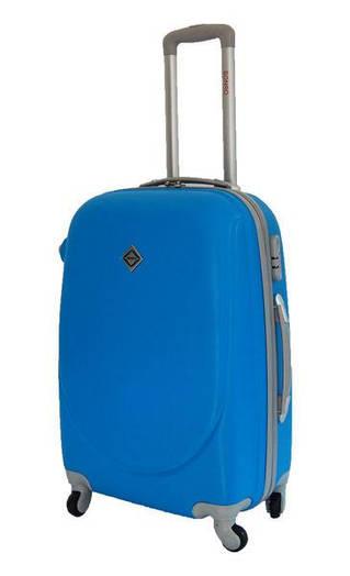 Чемодан сумка дорожный Bonro Smile (средний) голубой
