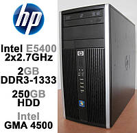 HP Compaq 6000 Pro - 2x2.7GHz /2GB DDR3 /250GB HDD Системный блок, Компьютер, ПК