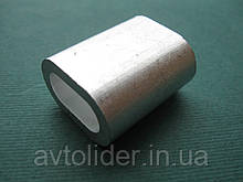 Алюминиевый обжимной зажим для троса