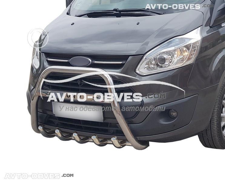 Защитная дуга без нижнего гриля Ford Tourneo Custom