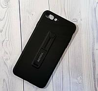 Чехол-накладка Remax Hold Series for iPhone 7 Plus/8 Plus Black, фото 1