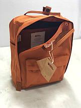 Рюкзак реплика Fjallraven Kanken / канкен горчичный, фото 2