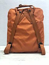 Рюкзак реплика Fjallraven Kanken / канкен горчичный, фото 3