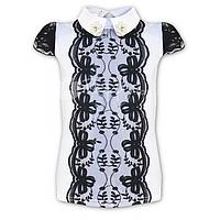 Детская нарядная блузка Mone для девочки,р.128, 134, 140, 146, 152, 158, 164