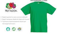 Детская футболка FRUIT OF THE LOOM valuweight t