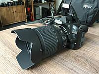 Дзеркальний фотоапарат Nikon D3100 18-105 VR Kit Black, фото 1