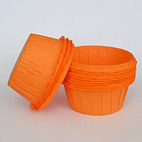 Капсула плотная для кексов(оранжевая) №29 (25 шт.)