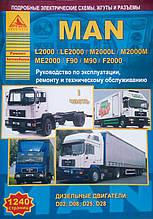 MAN  L2000 / LE2000 / M2000L / M2000M / ME2000 / F90 / M90 / F2000   Руководство по ремонту и обслуживанию