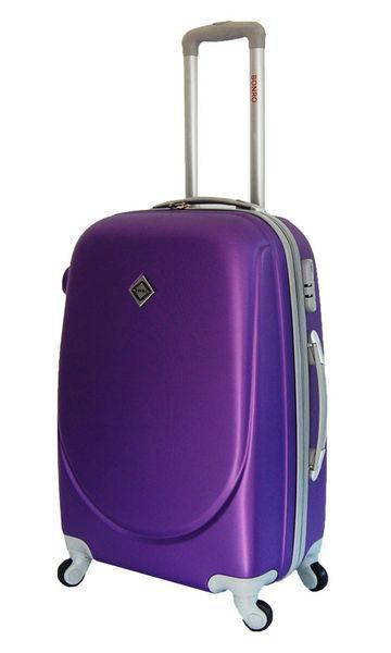Чемодан сумка дорожный Bonro Smile (небольшой) фиолетовый