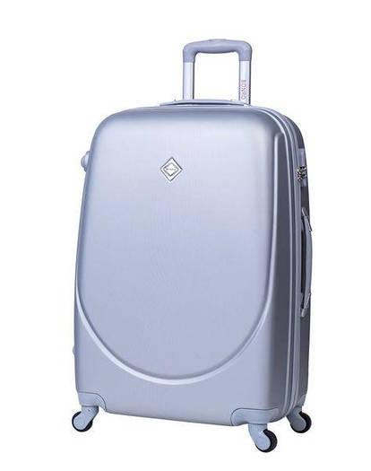 Чемодан сумка дорожный Bonro Smile (небольшой) серебряный