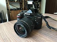Дзеркальний фотоапарат Nikon D3300 kit 18-55mm VR AF-P Black