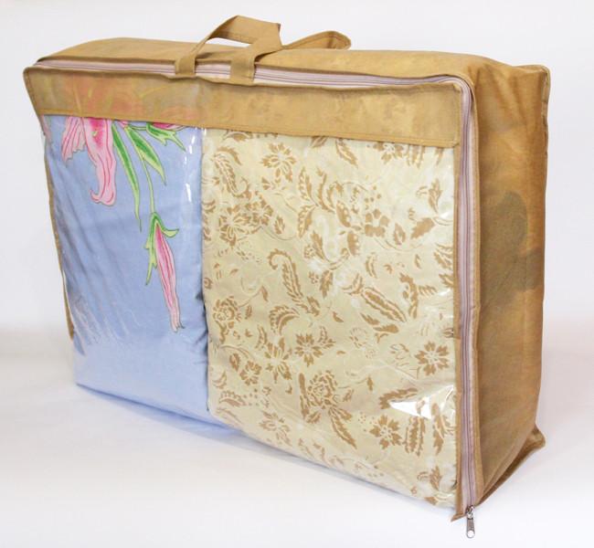 Сумка для зберігання речей\сумка для ковдри L (бежевий)