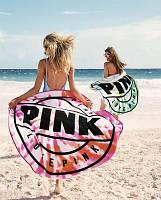 2 Цвета - Мягкий пляжный коврик / полотенце / покрывало Victoria's Secret (Виктория Сикрет) pvs8