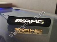 Эмблема с подсветкой в решетку Mercedes GLS (надпись AMG), фото 1