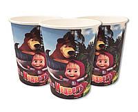 Праздничные стаканчики Маша и Медведь