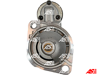 Cтартер на Audi Coupe 1.9 бензин. 1.1 кВт. 9 зубьев. 0001108001 Bosch. Аналог на Ауди Купе.