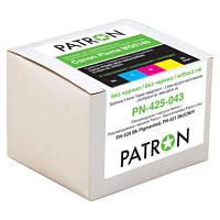 Комплект перезаправляемых картриджей PATRON CANON MG5140//5240/5340 (5шт)без чрн (CIR-PN-CPGI425C-043) (код 847915)