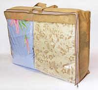Сумка для хранения вещей\сумка для одеяла M (бежевый), фото 1