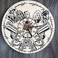 Концептуальные настенные часы в интерьер «Guns N` Roses»  , фото 1