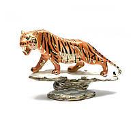 Статуэтка фарфоровая Тигр, (11х18х5см)