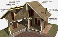 Строительство  каркасных домов и коттеджей под ключ в Одессе