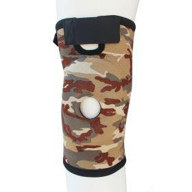 Бандаж для коленного сустава и связок ARMOR ARK2101 размер S,коричневый