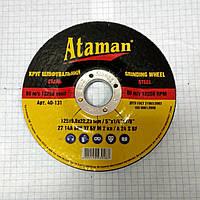 Круг зачистной 125 х 6мм Атаман 24658p