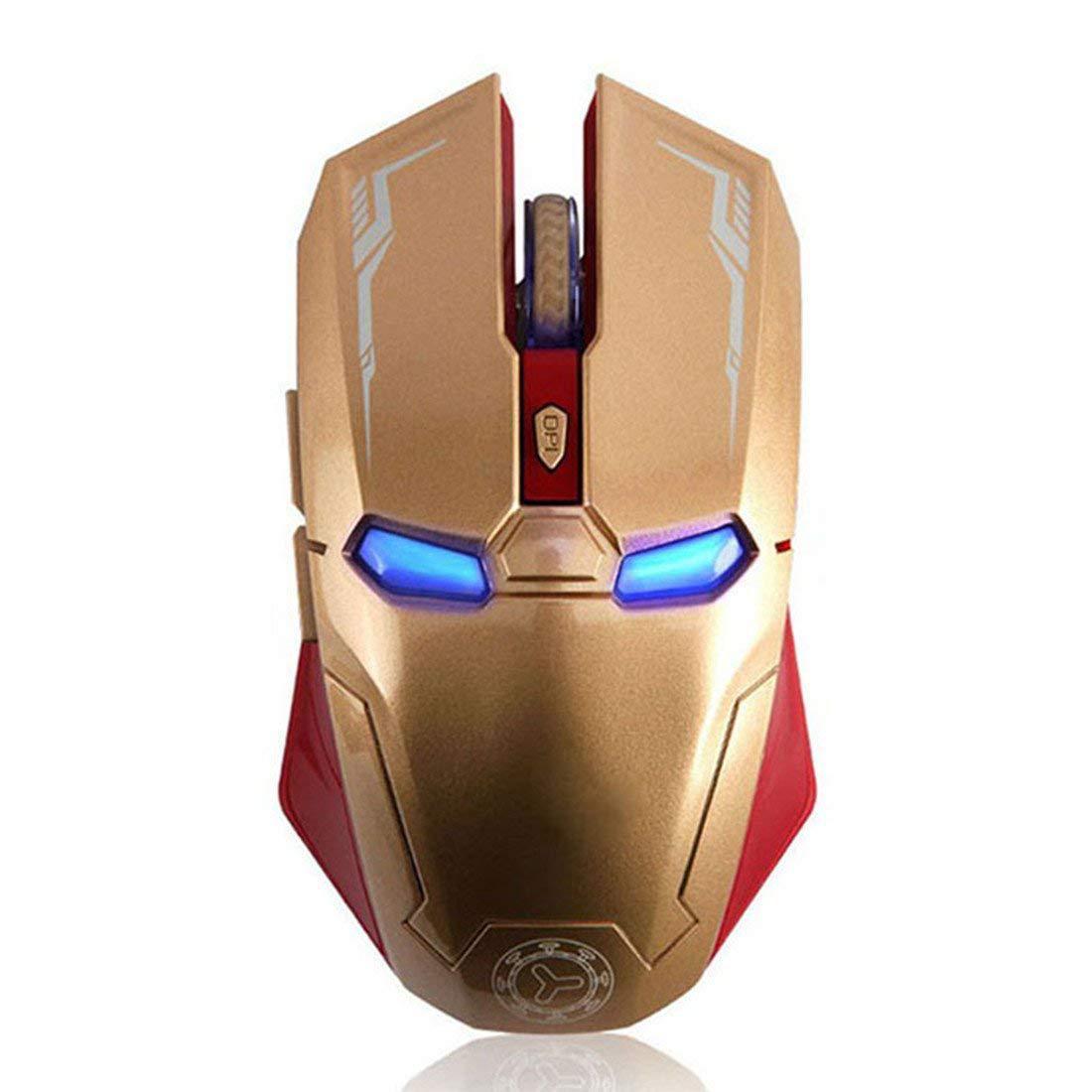 Беспроводная USB игровая мышь Iron Man Taonology