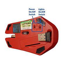 Беспроводная USB игровая мышь Iron Man Taonology, фото 3