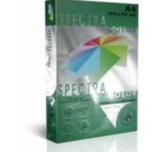 Папір кольоровий Spectra Сolor Asparagus 41A, А3, 160 г/м², 250 аркушів, темно-зелений
