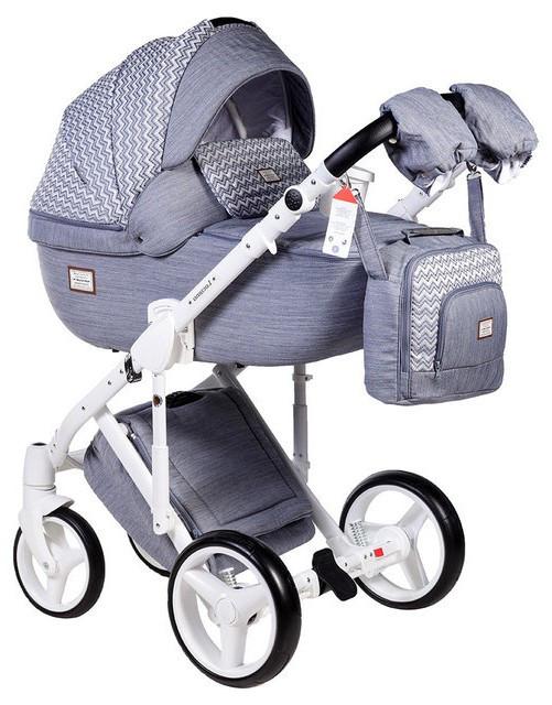 Детская универсальная коляска 2 в 1 Adamex Luciano Q-202
