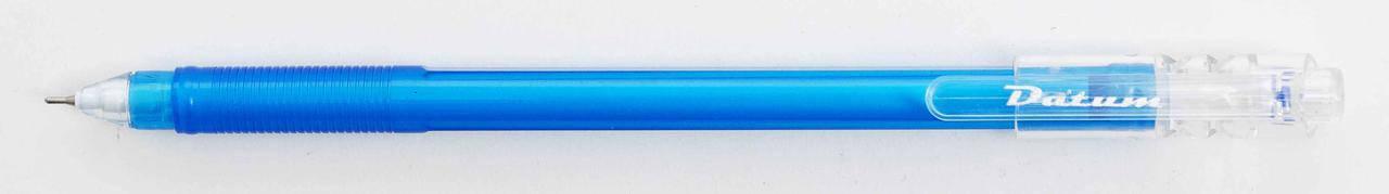 Ручка гелева Datum  D2811, 0,6 мм, синій, фото 2