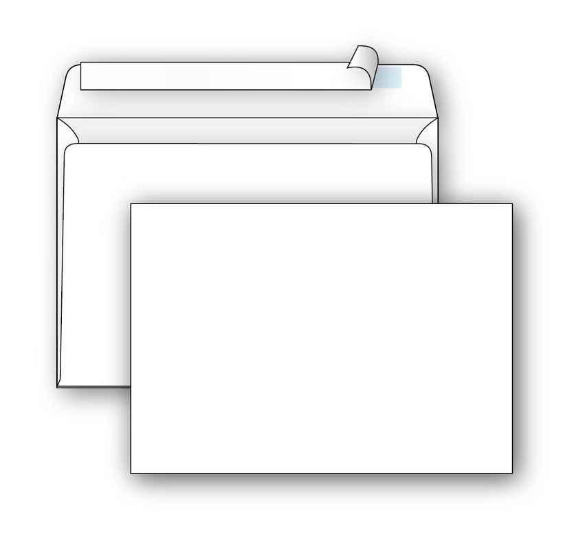 Конверт С6 СК біл. 75