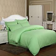 Постельное белье в ассортименте CW полуторный, Зеленый, 70*70