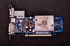 Видеокарта ASUS GeForce 7300 PCI-E 256Mb DVI бу