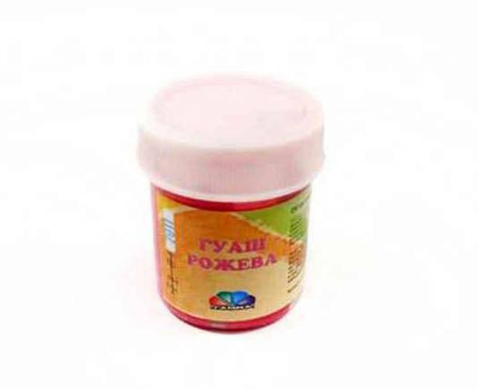 Фарба гуашева Гамма, рожева, 40 мл, 512034, фото 2