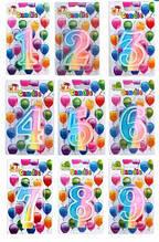"""Свічка для торту TIGER - цифра """"8"""""""