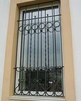 Кованая решотка на окно№12, фото 1