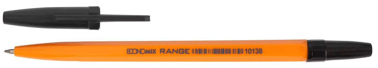 Ручка кулькова  ECONOMIX RANGE, фіолетова (за 50шт), фото 2
